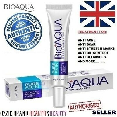Bioaqua Face Acne Rejuvenation Treatment Cream Gel Anti Acne Scar Stretch Marks