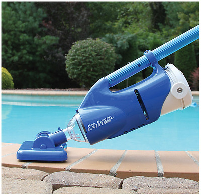 Above And Inground Swimming Pool, Spa, Hot Tub Leaf Rechargeable Vacuum Cleaner