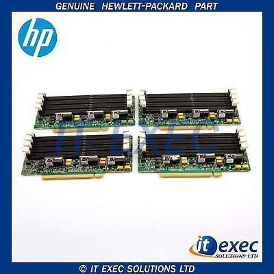 4 x HP 013065-001 Memory Expansion Board Proliant DL580 G5 Server- 449416-001