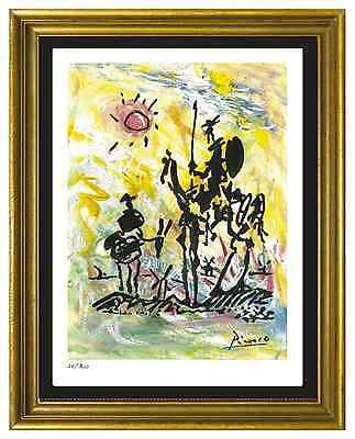 "Pablo Picasso Signed/Hand-Numbered Ltd Ed ""Don Quixote"" Litho Print (unframed)"