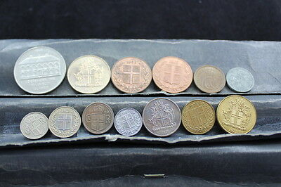 ICELAND 13 assorted coins  lot G 776