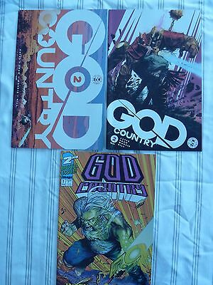 Lot Of 3 God Country 2 Cover A B C Nm 1St Printing Image