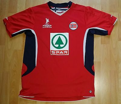 Norwegen Handball Trikot (Gr. M) Umbro Norwegen Norway Norge