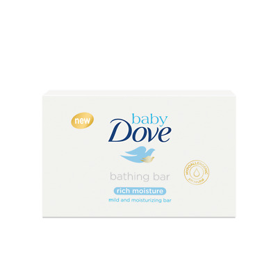 Baby Dove RICH MOISTURE Bar Soap mild & nourishing suitable for newborns 75g