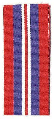 """WW2 1939-45 Service Medal 6"""" Full Size Ribbon / Canada & Great Britain"""