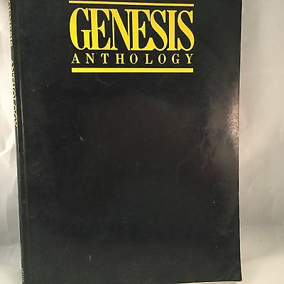 Genesis Anthology Sheet Music Book Songbook Piano Vocals Guitar Phil Collins