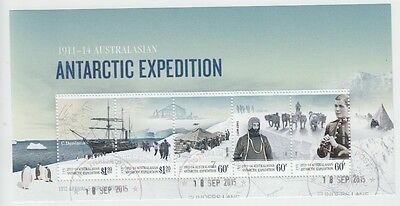 Aat 2012 Australasian Antarctic Expedition Cto Minisheet (Jd5781)