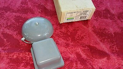 Unused Edwards 55 Fire Alarm School Ringer Bell  Metal Safety Bell FREE SHIP NOW