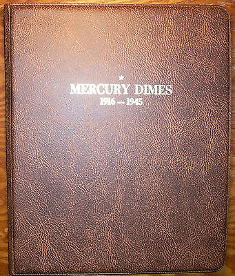 New Harco Coinmaster Mercury Dimes 1916-1945 Album Folder - Ready to be filled