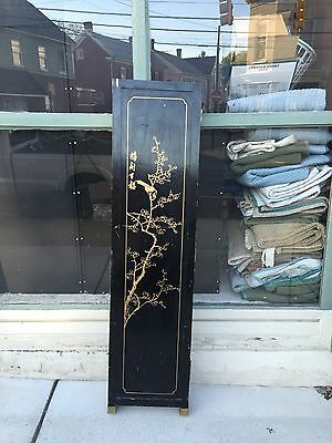 Antique Or Vintage Chinese Japanese Oriental Asian Lacquer Screen Room Divider