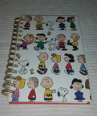 Peanuts Notebook Journal by Graphique Snoopy Charlie Brown Lucy Sally Woodstock