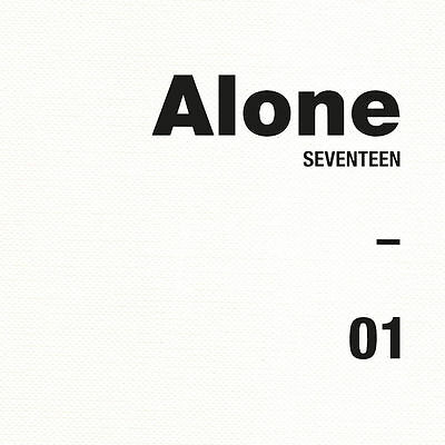 Seventeen - AL1 (4th Mini Album) VER.1 ALONE [1], CD + Photobook + Photocard