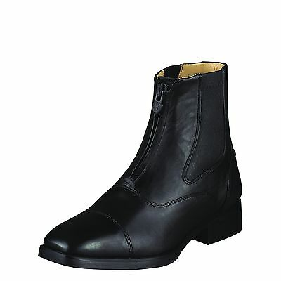 ARIAT - Women's Monaco Zip Field Boots - Black - ( 57500 ) 7B - Sample