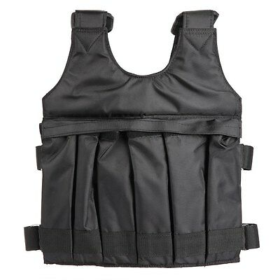 Loading Weighted Black Jacket 50kg 1PC Vest For Boxing Training Equipment SUTEN