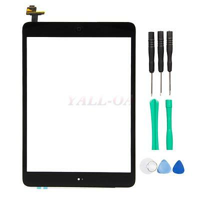 Touch Screen Digitizer IC Home Button for iPad Mini 1 2 A1432 A1454 A1455 Black