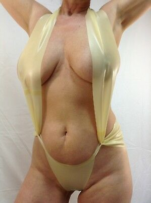 Latex Damen Body Art.0076 100 % Latex Mat. 0,33mm