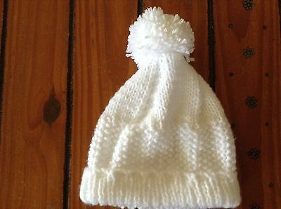 T 14 Hand Knitted Baby Hat