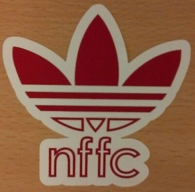 Nottingham Forest FC Adidas Originals Sticker Pack (5 designs in pack)