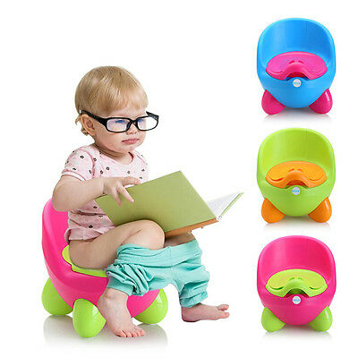Keraiz Baby Training Potty Toddler Children Egg Potty Toilet Training Seat