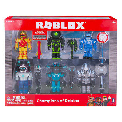 Roblox Series 1 Champions of Roblox 6 Figures Pack NEW