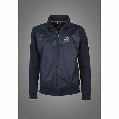 Equiline Mens Ridge Sweatshirt Navy Medium