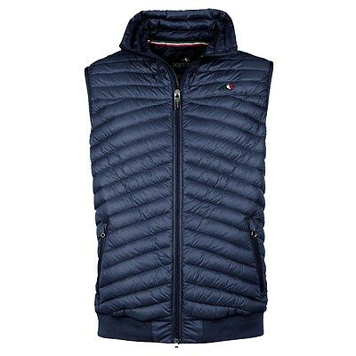 Equiline Mens Dell Vest Gilet Navy Medium