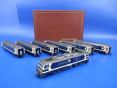 FULGUREX HOm GAUGE MOB DIESEL ELECTRIC LOCOMOTIVE '6004' WITH RAKE OF 6 COACHES