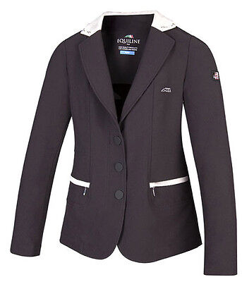 Equiline Ambra Girls competition Jacket Navy 12/13