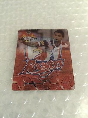 Nrl Rugby League Card 2006 Hot Shot 3D Tazo Rare 20 Craig Wing Roosters