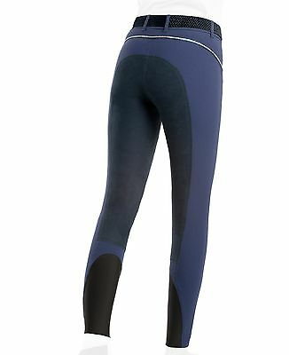 Equiline Iris Breeches Metal Blue 42 (size 10)