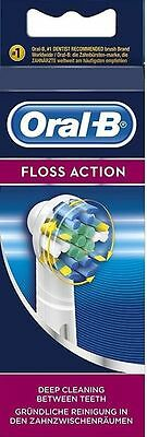 Braun Oral B Electric Toothbrush Replacement Brush heads FLOSS ACTION