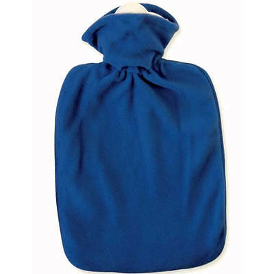 Hugo Frosch Classic Hot Water Bottle With Fleece Cover 1.8L Rubberless | Germany