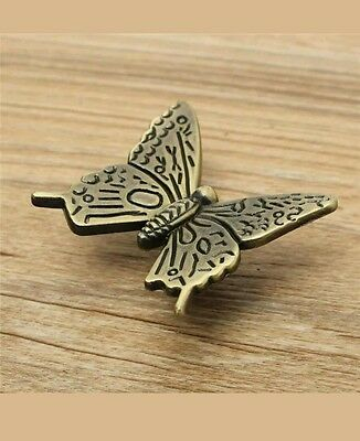 Butterfly Cabinet Handle Vintage Kitchen Furniture Drawer Pull Knob AU Seller