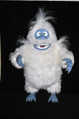 """Rudolph Plush BUMBLE 16"""" Abominable Poseable ROARS 2002 Playing Mantis"""