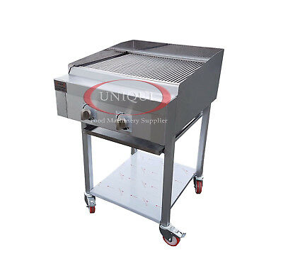 2 Burner Gas Charcoal Bbq Grill / Char-Grill Heavy Duty For Commercial Use