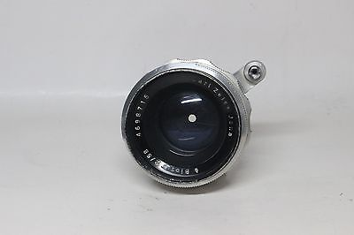 Carl Zeiss Jena Biotar 58 mm f/ 2 Exakta Mount - some mold - READ DESCRIPTION