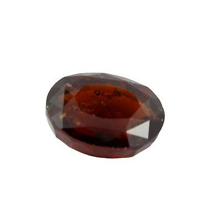 Be You 5.44cts Orange Color Faceted Oval Shape Natural Odisha Hessonite
