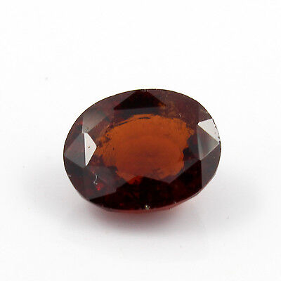 Be You 4.55cts Orange Color Faceted Oval Shape Natural Odisha Hessonite