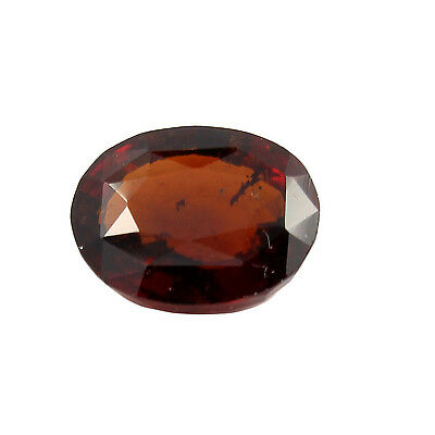 Be You 4.6cts Orange Color Faceted Oval Shape Natural Odisha Hessonite