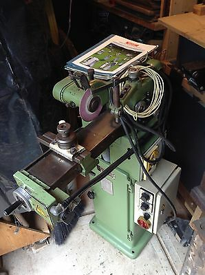 Circular saw blade sharpener grinding machine.Schmidt Tempo-AS2-4. industrial