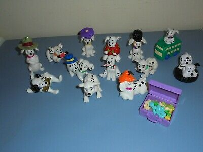 Lot Of Disney 101 Dalmatians Pvc Plastic Play Toy Figures