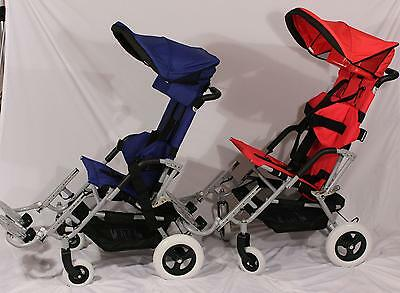 Large Special Needs Stroller Wheelchair has Transit Option 2 sizes available