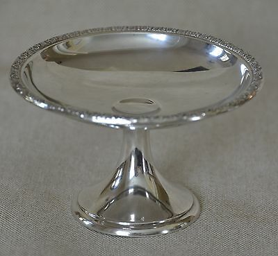 """International Silver Sterling Compote Prelude Pattern (T177-1) (Short 4"""")"""