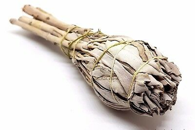 "Californian White Sage Stick Smudge 4.5"" Approx  Cleansing, Native Indian.Aura"