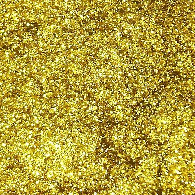 "2 lb / 907g Rich Gold Metal Flake .008"" Auto Paint Additive Custom Flakes LF3632"