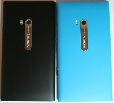 Genuine Nokia Lumia 900 Blue Back Battery Housing Cover Case Battery Shell Body