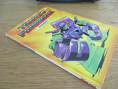 Transformers Annual 1988 vintage ,  unclipped.Marvel.