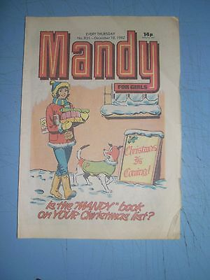 Mandy issue 831 dated December 18 1982
