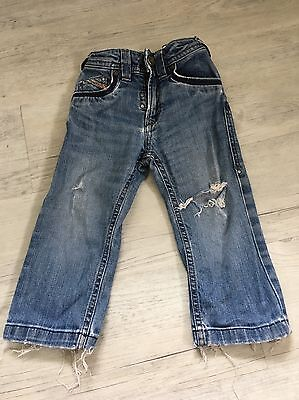 Boys Ripped Diesel Jeans 18-24 Months