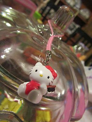 Classic Red & White Hello Kitty Mobile Cell Phone Charm Sanrio Japan